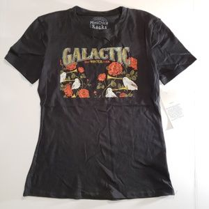 MIMI CHICA ROCKS Galactic Winter Tour T-Shirt Sz S